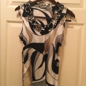 Signature by Larry Levine Sleeveless Top